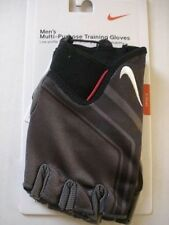 NIKE Men's PurposeTraining GLOVES Grey/Black/Red/White Size X-Small