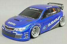 1/10 RC Car BODY Shell SUBARU IMPREZA STI  190mm Body -FINISHED- BLUE