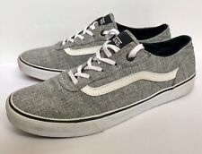 Vans Old Skool Skate Shoes - Classic Canvas, Grey, Women's UK Size: 7.5, 721277