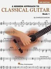 a Modern Approach to Classical Guitar Book 1 by Charles Duncan 9780793570652