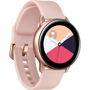 Samsung Galaxy Watch Active SM-R500 Rose Gold Smartwatch Compatibile Apple IOS