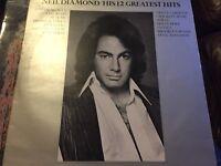 Neil Diamond Greatest Hits Record Album 1972