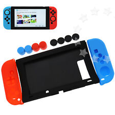 Silicon Case Gamepad Cover Skin Cap for Nintendo Switch Joy-Con Console Set DE