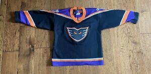 VIntage 90's Philadelphia Phantoms Minor League Hockey Jersey Youth L (6)
