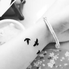 Removable Tattoo Swallow Bird Temporary Waterproof Flash Body Art Sticker Sheet
