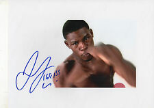 Jermaine Taylor Boxer signed 8x11 inch photo autograph