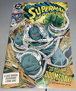 Superman The Man of Steel #18 DC 1st Full App Appearance Doomsday