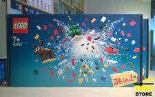 IN STOCK - LEGO 40253 COSTRUZIONE DI NATALE 24-IN-1 CHRISTMAS BUILD UP (2017)
