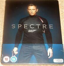 Spectre Steelbook 4K Ultra HD+Blu Ray / Region Free / WORLDWIDE SHIPPING