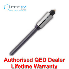 QED Performance Graphite Digital Optical Toslink Interconnect Cable 2m QE6602