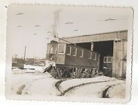 HARRISBURG RAILWAYS Trolley at Car Barn PA 1934 Pennsylvania Photograph