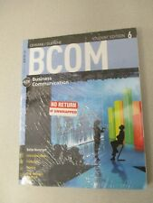 BCOM Business Communication Student Edition 6 Lehman/Dufrene w/Ebook NEW