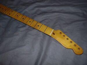 FAT RELIC Fender Lic. Allparts Maple Neck will fit telecaster usa mjt mim body