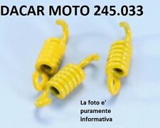 245.033 CONJUNTO MUELLES EMBRAGUE D.1,9 AMARILLO POLINI DERBI GP1 50 2001-2003