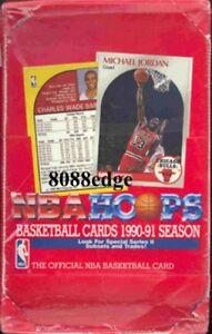 1990-91 HOOPS SERIES 2 NBA SEALED BOX: MICHAEL JORDAN -SHAWN KEMP/GARY PAYTON RC