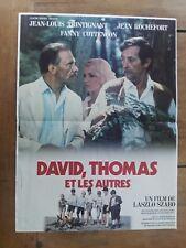 Plakat David, Thomas und die Anderen Jean-Louis Trintignant Rochefort 40x60cm *