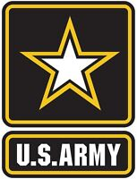 US Army Seal Logo Vinyl Decal Sizes window sticker armed military Free Shipping