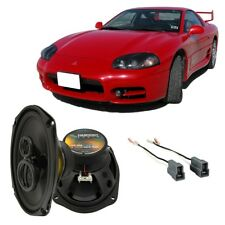 Fits Mitsubishi 3000GT 1991-1999 Rear Side Panel Replacement HA-R69 Speakers New