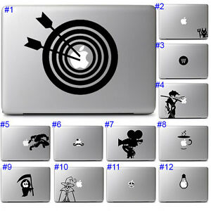 Spooky Fun Halloween Laptop Decal Sticker Apple Laptop Notebook Macbook Air Pro