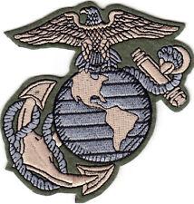 US Marine Corps Logo Iron On Patch Marines USMC Military Motto Semper Fi