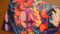 Doujinshi POKEMON Incineroar Uke (B5 32pages) Fight Fire with Fire furry kemono