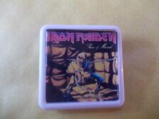 IRON MAIDEN PIECE OF MIND  ALBUM COVER    BADGE PIN