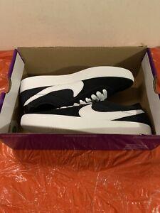 Nike SB Bruin React Black White Skateboarding Shoes CJ1661-001 Men Size 9.5