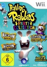 Nintendo Wii Rayman Raving Rabbids fiesta Collection como nuevo