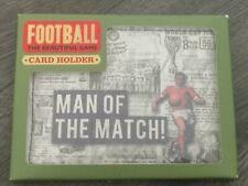 BNIB MOTM MAN OF THE MATCH VINTAGE FOOTBALL WORLD CUP  CREDIT CARD HOLDER WALLET