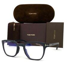 Tom Ford FT5592-B 002 Matte Black/ Blue Block 50mm Eyeglasses TF5592-B