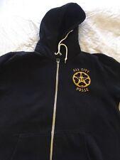 Vintage Obey All City Posse black hoodie L Stussy Shepard Fairey Supreme