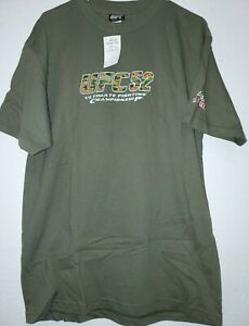 2005 UFC 52 Ultimate Fighting Championship Couture V.S. Liddell T- Shirt Size L