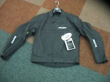 """MENS LARGE L 44"""" LEATHER MOTORCYCLE JACKET CE ARMOURED BULLETPROOF BRAND - NEW"""