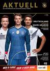 Länderspiel 08.06.2018 Deutschland - Saudi-Arabien in Leverkusen - Test WM 2018