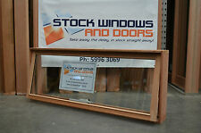 Timber Awning Window 597h x 1810w - Double Glazed  (BRAND NEW IN STOCK NOW)
