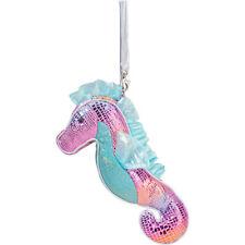 DOUGLAS Cuddle Toys Glitzy Seahorse Sillo-ette Coin Purse - 5562 NEW