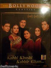 KABHI KHUSHI KABHIE GHAM * SHAHRUKH KHAN - ORIGINAL BOLLYWOOD DVD