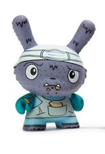 kidrobot The Bots Scared Silly Dunny Series Vinyl Mini Figure - Lunch Hour - NEW