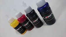 4 x 70ml(CMYK) Premium Dye Sublimation Ink for Epson A3,A4 Benchtop Printers