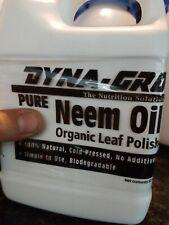 Dyna-Gro Neem Oil 32oz Bottle - Natural Neem Oil - prevents pests & bugs