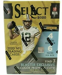 2020 PANINI NFL SELECT FOOTBALL BLASTER BOX SEALED!  In Stock