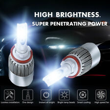 H8 H9 H11 6000K White 1400W 210000LM CREE LED Fog Driving Lights Foglights Kit