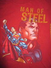 "Six Flags SUPERMAN ""Man of Steel"" ROLLAR Coaster (MED) T-Shirt"