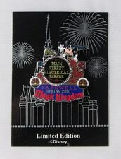 2001 DISNEY MAIN STREET ELECTRICAL PARADE FAREWELL PIN LE 5000 NEW ON CARD 4183
