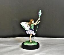 Rare Cicely Mary Barker Limited Flower Fairies Lavender Fairy Porcelain Figurine