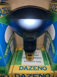 5 x 150W Plant Grow Light R30 Reflector Light Globes Bulbs B22 Bayonet