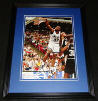 Shaquille O'Neal vs David Robinson 1993 Framed 11x14 Photo Display Magic Spurs