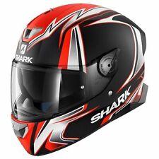 SHARK SKWAL 2 Luces LED Sykes Kwo casco de motocicleta-Naranja