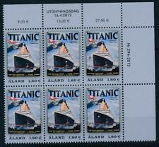 [328705] Aland 2012 good block of 6 stamps very fine MNH