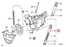 Genuine BMW E31 E32 E34 E38 E39 Coupe Sedan Engine Oil Pump OEM 11411438280